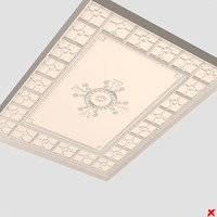 3ds max ceiling medallion