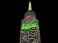empire state building night c4d