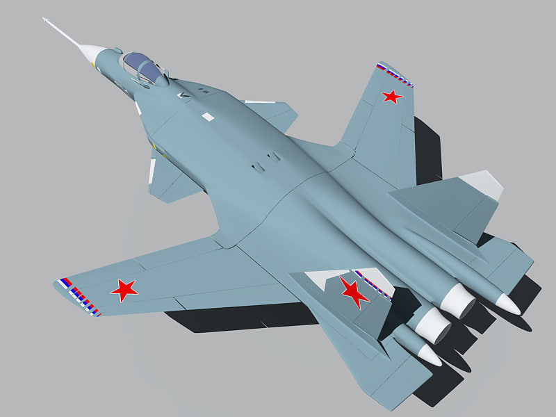 3d russian fighter su c37b