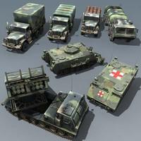 3d model army m