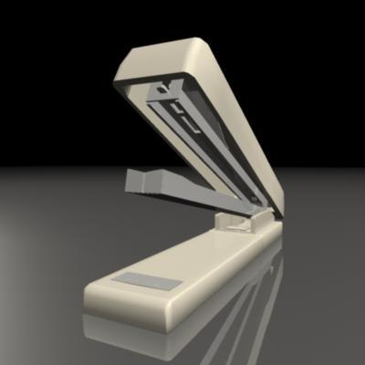 stapler staple 3d obj