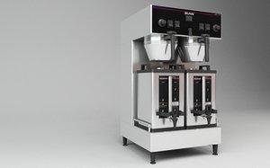 3d model bunn coffee machine