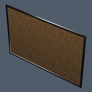 3ds max notice board v1 0