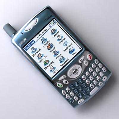 3d palm treo phone
