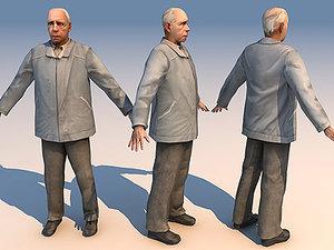 max old man 01 character