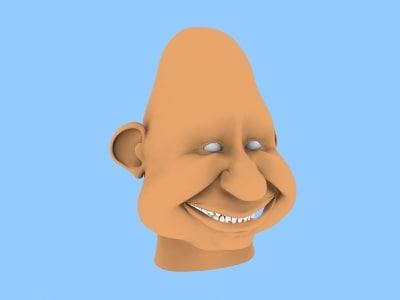 3d specko head model
