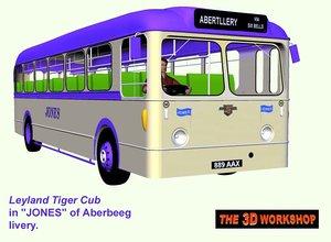 maya leyland tiger cub bus
