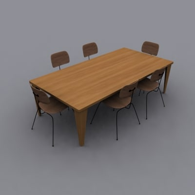 maya eames dining set