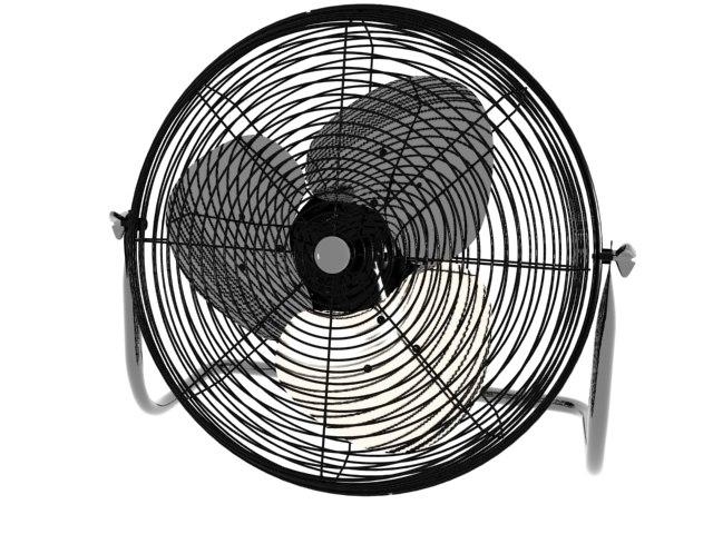 uility fans 3d max