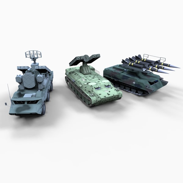 soviet block surface air 3d model