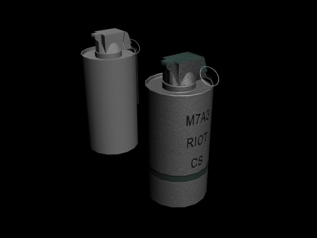 flash bang 3d model