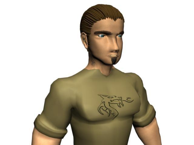 3d character personaje