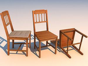 3d chair 01