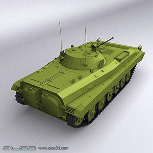 bmp-2 fighting vehicle 2 3d model