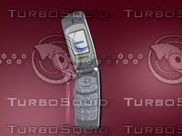 cellular mobile phone samsung sgh-x150 3d model