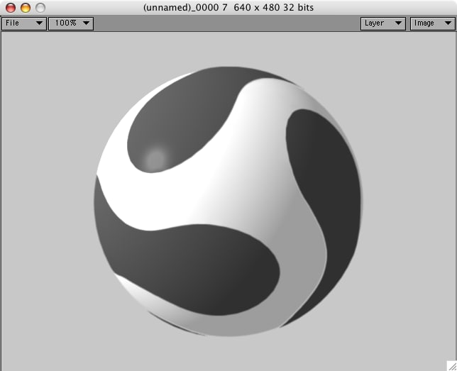 3ds max soccer ball new style
