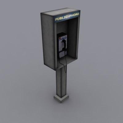 public pay 3d model