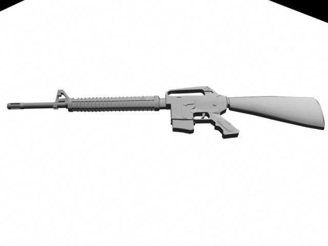 maya m16 rifle