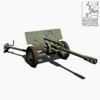 Zis 3 76.2mm field gun