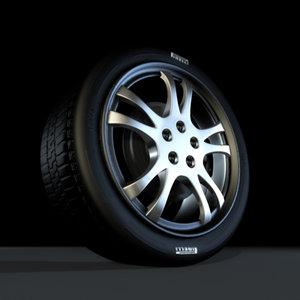 max unique rim tire