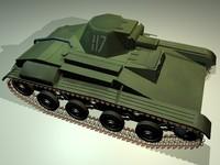 t-60 russian tank 3d model