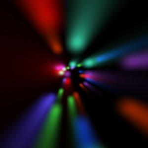 light tunnnel c4d
