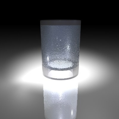 cup ice c4d