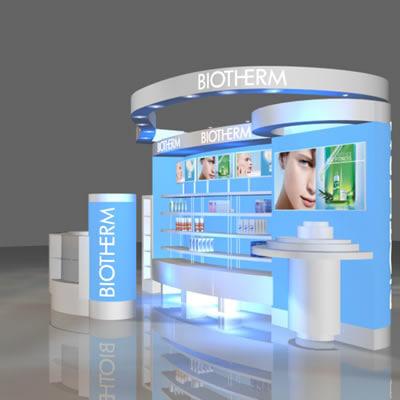 loreal biotherm skincare 3d max
