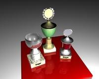 free trophy 3d model