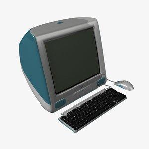 free imac computer 3d model