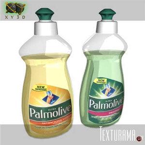 3d palmolive model
