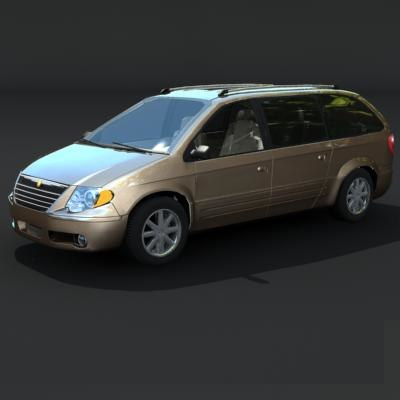town country 3d model