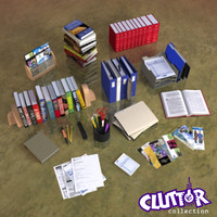 Clutter-Book Store 001