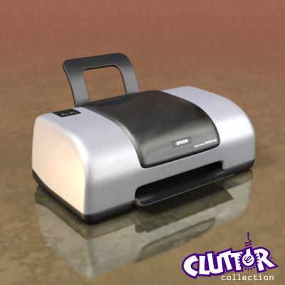 inkjet printer 3d 3ds