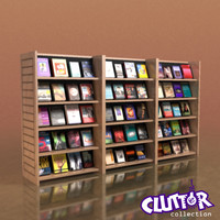 Furniture-Bookcase New Release 002