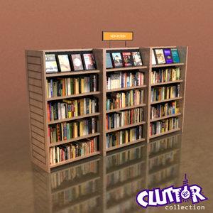 maya small library book