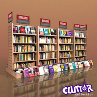3d model of bargain book