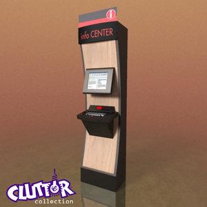 max computer information kiosk