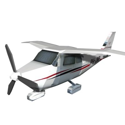 airplane aircraft 3d model