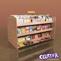 Utility Unit-Magazine Rack 001