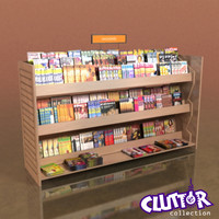 Utility Unit-Magazine Rack 003
