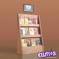 Utility Unit-Magazine Rack 004