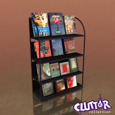 3d book display