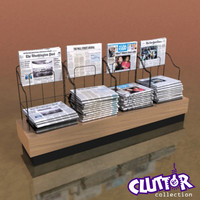 Utility Unit-Newspaper Rack 002
