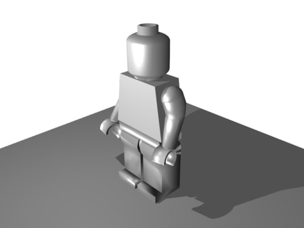 free 3ds model lego man