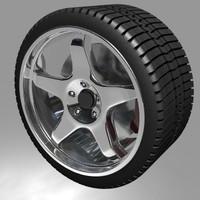 free lwo model wheel rim
