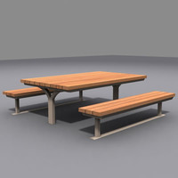 picnic table model