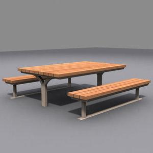 maya picnic table