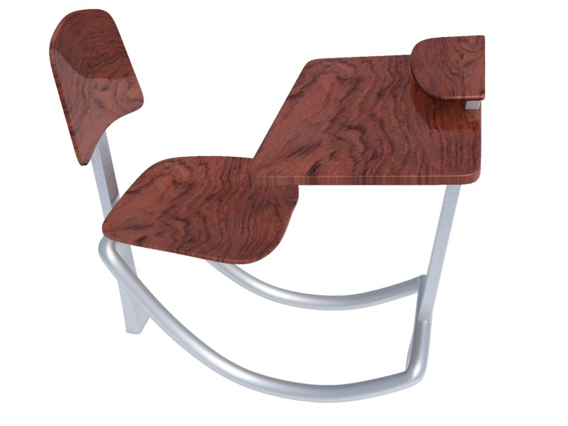 school chair 3ds