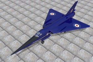 research fairey delta 2 3d model